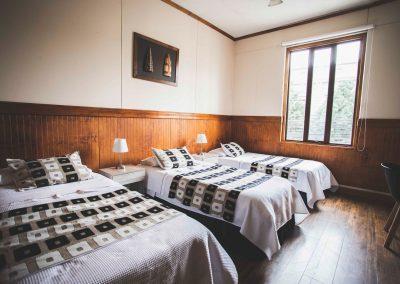 Habitación 17, Triple Baño Compartido